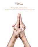 Mudra Ksepana Стоковое фото RF