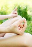 Mudra para la meditación Imagen de archivo