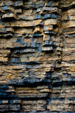 Mudstone cliffs Royalty Free Stock Photography