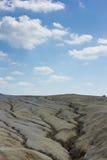 mudvolcanoes Arkivbild