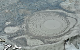 Mudvolcanoesna Royaltyfri Foto