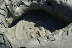 mudvulcano Fotografering för Bildbyråer