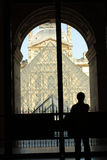 Mueé Du Louvre Zdjęcie Stock
