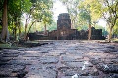 Mueang唱历史公园,北碧泰国 库存图片