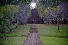 Mueang canta il parco storico, Kanchanaburi Tailandia Fotografie Stock Libere da Diritti