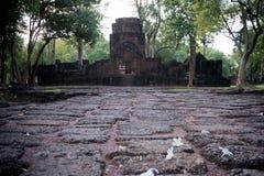 Mueang canta il parco storico, Kanchanaburi Tailandia Fotografie Stock