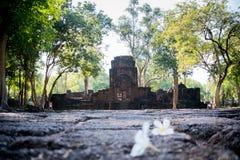 Mueang canta il parco storico, Kanchanaburi Tailandia Fotografia Stock
