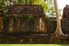 Mueang Sing historical park Royalty Free Stock Photography