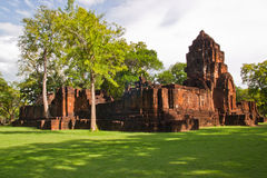 Mueang Sing historical park Stock Photo