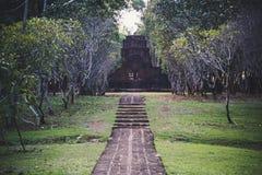 Mueang Sing Historical Park, Kanchanaburi Thailand. Royalty Free Stock Images