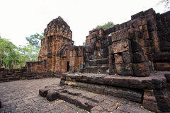 Mueang Sing is a historical park Stock Photography