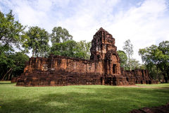 Mueang Sing Historical Park in Thailand Royalty Free Stock Photos
