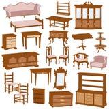 Muebles Imágenes de archivo libres de regalías