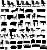 Muebles stock de ilustración