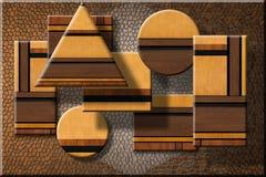 Muebles abstractos Fotografía de archivo libre de regalías