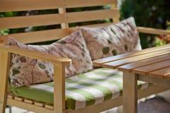 Muebles al aire libre Fotografía de archivo libre de regalías