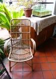 Muebles al aire libre del bastón Imagenes de archivo