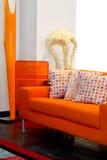 Muebles anaranjados imagen de archivo