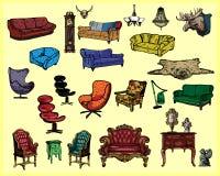 Muebles antiguos Fotografía de archivo