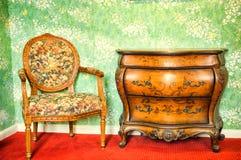 Muebles antiguos Foto de archivo libre de regalías