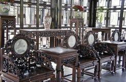 Muebles antiguos chinos foto de archivo