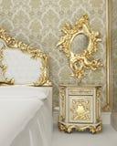 Muebles barrocos ilustración del vector