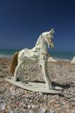 Muebles, caballo de oscilación foto de archivo