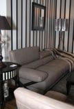 Muebles caseros modernos de la sala de estar Imagenes de archivo