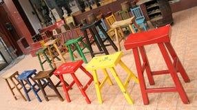 Muebles coloridos Imagenes de archivo