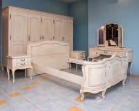 Muebles del dormitorio Fotografía de archivo libre de regalías