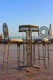Muebles del hierro Fotografía de archivo