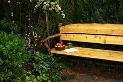 Muebles del jardín imagen de archivo libre de regalías
