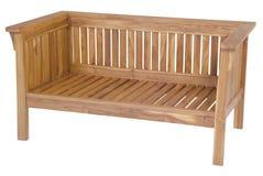 Muebles del jardín de la teca, muebles del jardín, silla de la teca Foto de archivo libre de regalías