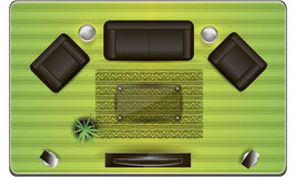 Muebles en  libre illustration