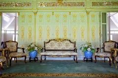 Muebles en palacio Foto de archivo libre de regalías