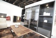 Muebles interiores modernos Imágenes de archivo libres de regalías