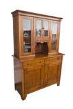 Muebles italianos de madera antiguos apenas restaurados con el aparador y Fotografía de archivo libre de regalías
