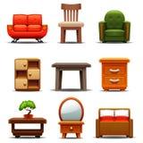 Muebles modernos Ilustración del Vector