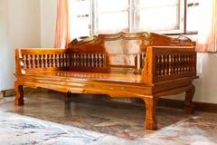Muebles modernos de madera Fotografía de archivo
