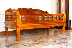 Muebles modernos de madera Fotografía de archivo libre de regalías