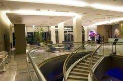 Muebles modernos del pasillo del hotel Fotos de archivo