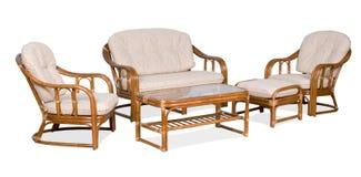 Muebles para una terraza Imagen de archivo