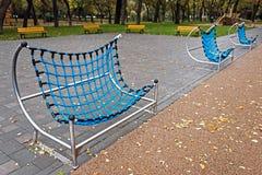 Muebles urbanos para los niños 5 Fotos de archivo libres de regalías