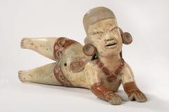 Muñeca de la arcilla de Olmec Imagenes de archivo