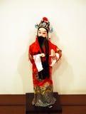 Muñeca de la ópera de Pekín Fotos de archivo libres de regalías