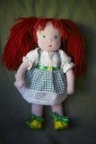 Muñeca de trapo Imagen de archivo libre de regalías