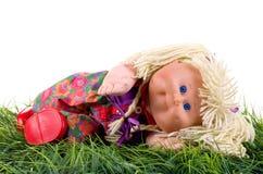 Muñeca de trapo. Foto de archivo libre de regalías