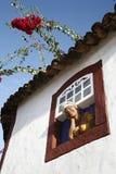 Muñeca decorativa Fotos de archivo