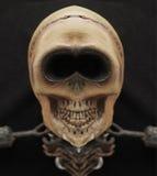 Mueca del cráneo stock de ilustración