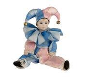 Muñeca del Harlequin Imagenes de archivo